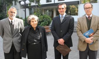 Exposición sobre la Sábana Santa en la Universidad Gabriela Mistral en Santiago de Chile