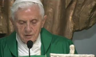 El Papa recuerda a sus ex-alumnos que solo Dios calma la sed de los hombres