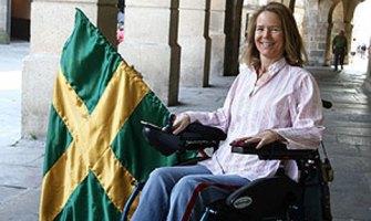 Una tetrapléjica madrileña dice que «Dios me ha regalado una vida más completa que la anterior»