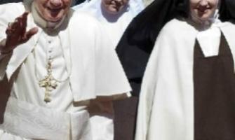 Frente al relativismo y la mediocridad, el Papa pide a las religiosas la radicalidad evangélica