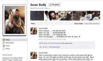 Jesucristo «engancha» más en Facebook que Justin Bieber, Lady Gaga y el F.C. Barcelona