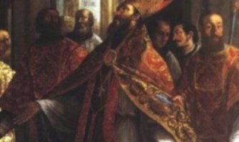 Un rey tirano y un obispo santo