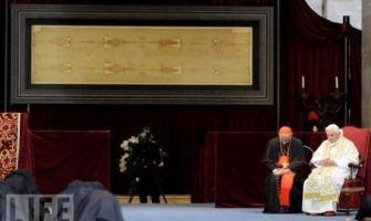 La Sábana Santa de Turín será expuesta por televisión durante una hora el 30 de marzo