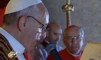Las palabras completas del Papa Francisco