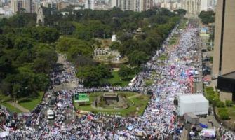 Impresionante Marcha por la Vida en Lima: crece un 150% y saca cien mil personas a la calle