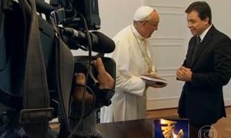 Insólito: un Papa entrevistado en televisión; Francisco no esconde los males en la Iglesia