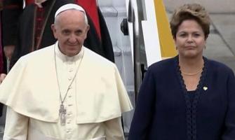 ¡¡¡Llegó el Papa Francisco al Brasil !!!