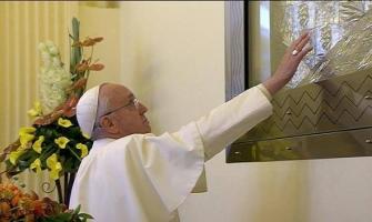 Primera misa americana de Francisco: la Virgen ante el Mal  Las 3 recetas del Papa en Aparecida contra «el dragón»: esperanza, alegría y las sorpresas de Dios