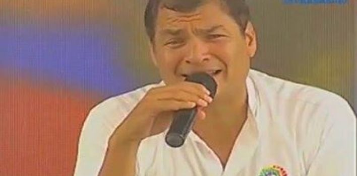 "Presidente Correa critica ideología de género: ""es peligrosísima"""