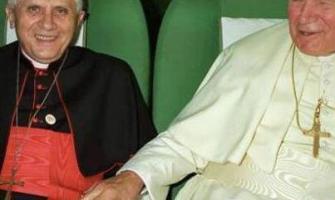 Entrevista a Benedicto XVI sobre Juan Pablo II. Su coraje, santidad y desafíos