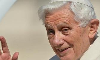 Primer mensaje leído en público de Benedicto XVI: La Iglesia busca anunciar a Cristo, no ganar miembros