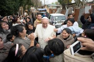 Un bello gesto profético del Papa Francisco