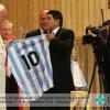 Maradona: 'El primer hincha de Francisco soy yo'