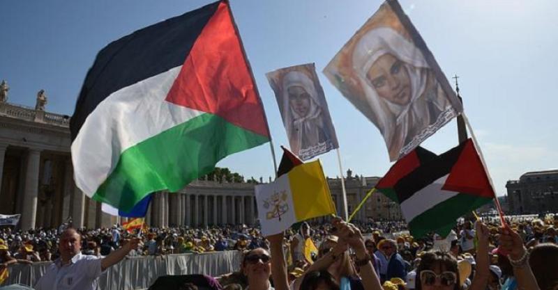 «Nuevas santas palestinas traigan solidaridad y convivencia fraterna»