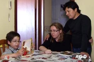 Abel Flores: Venía con espina bífida, pero no quisieron abortarlo