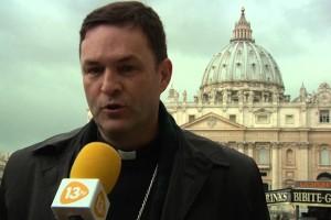 Monseñor Raúl Berzosa, obispo de Ciudad Rodrigo: «Para hablar de la Virgen María»