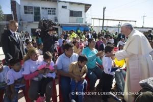 El Papa a los presos de Palmasola: reclusión no es lo mismo que exclusión
