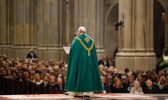 En Nueva York el Papa alienta a sacerdotes y religiosas a vivir intensamente su vocación
