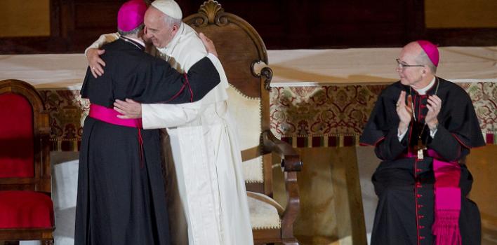 """""""El evangelio de la familia es una buena noticia"""", el Papa a los obispos en Filadelfia"""