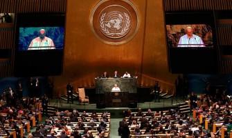 El Papa a la ONU: la guerra es la negación de todos los derechos