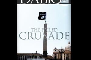 El Estado Islámico anuncia en su revista, Dabiq, que conquistará el Vaticano y quebrará cruces