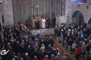 Francisco a los luteranos: pedirnos perdón por el escándalo de estar divididos