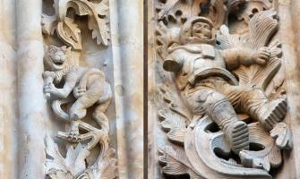 El misterio del astronauta y del dragón en una Catedral del Siglo XVI