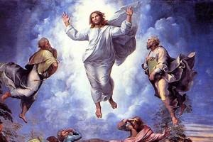 «Mientras los bendecía, fue llevado al cielo»