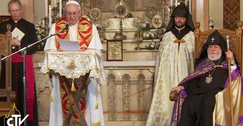 El Papa: La fe es para Armenia realidad constitutiva de su identidad