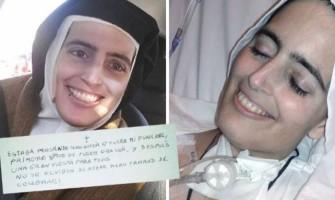 El rostro de paz de una carmelita a punto de morir se convierte en fenómeno viral en las redes sociales