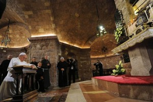 En Asís, que celebra el Gran Perdón, el Papa Francisco enseña que perdonar es el camino al Cielo