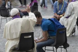Francisco: 'En la confesión resplandece particularmente el don la misericordia'