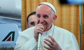 Rueda de prensa del Papa Francisco al regreso de su viaje a Egipto