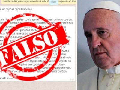 ¿Y el Papa Francisco realmente dijo eso?