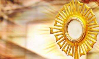 «El que come mi carne y bebe mi sangre tiene vida eterna»