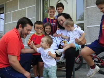 Por qué las familias grandes son geniales…de verdad