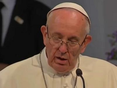 """El Papa: """"Religiosos, ustedes son signo del amor de Dios y la promesa de un nuevo inicio para Colombia"""""""