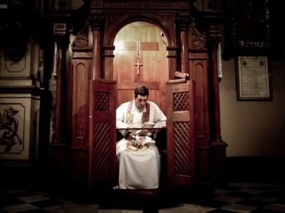 La vergüenza invencible al confesarse