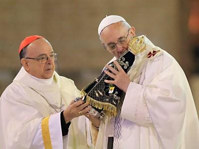 """Papa Francisco: En Aparecida """"aprendemos a dejarnos sorprender por Dios"""""""