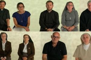 9 religiosos se someten a preguntas anónimas en Telemadrid: mucha naturalidad y caen los tópicos