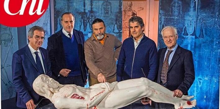 Estatua reconstruye rasgos y facciones del Hombre de la Sábana Santa