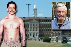 Era el preso más peligroso: le bautizaron esposado y fue monje en su celda subterránea de 9 puertas