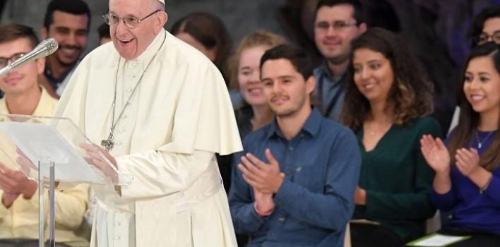 Música, danza y testimonios de jóvenes con el Papa en Roma: «Deseo de alzarse y afrontar la vida»