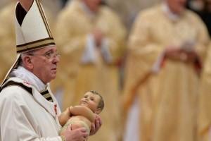 """Misa de Navidad: """"Jesús, Tú, recostado en un pesebre, eres el pan de mi vida"""""""