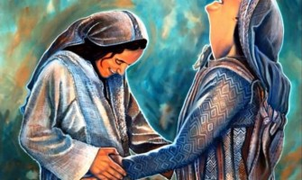 «Bendita tú entre las mujeres y bendito el fruto de tu seno»