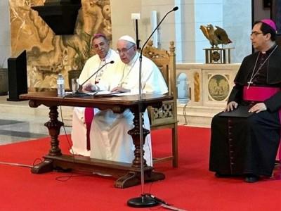 Papa a obispos de Centro América: aprender a escuchar los latidos de su pueblo
