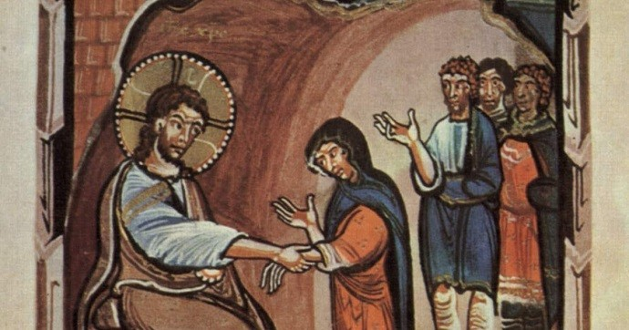 Curación de Jesús